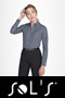 K542 - Ladies' Long Sleeve Easy-Care Cotton Poplin Shirt